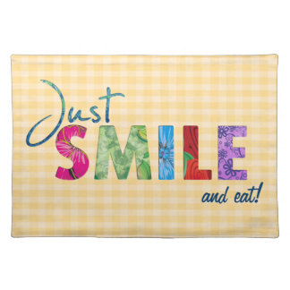 Just Smile Placemats