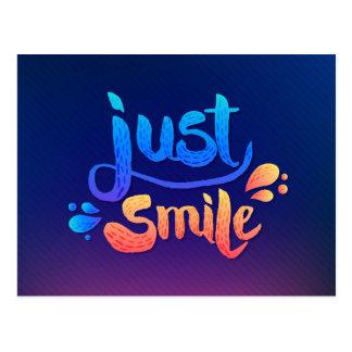 Just Smile Postcard