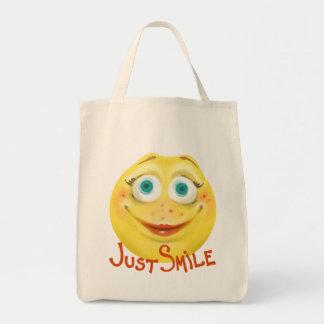 Just Smile :) Tote Bag