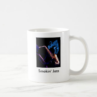 Just Smokin' Jazz-cropped, Smokin' Jazz Coffee Mug