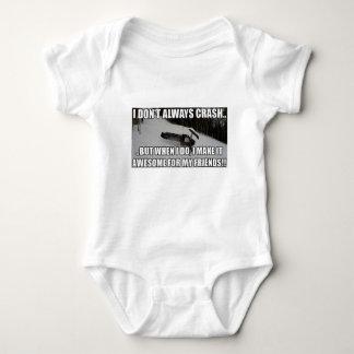 Just Snowmobiles Merch Baby Bodysuit