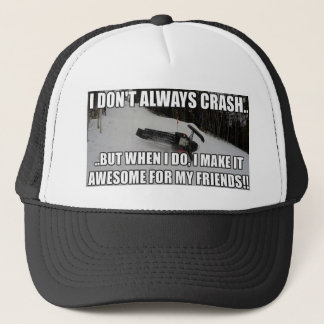 Just Snowmobiles Merch Trucker Hat