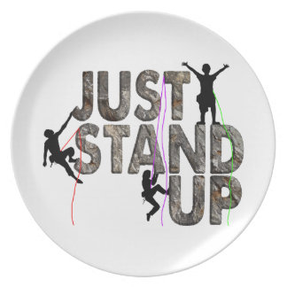 Just Stand Up Plate