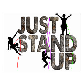 Just Stand Up Postcard
