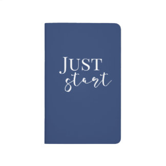 Just Start Lined Journal