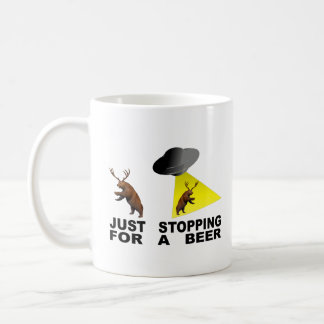 Just Stopping For A Beer Coffee Mug