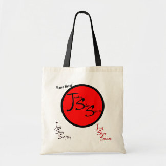 Just Survive Shopping Satire Budget Tote Bag