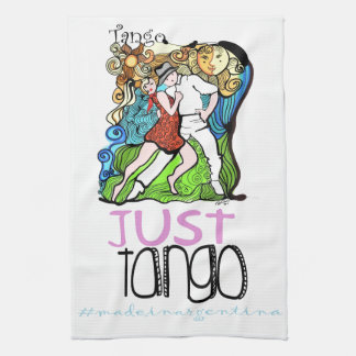 Just Tango Made in Argentina Kitchen Towels