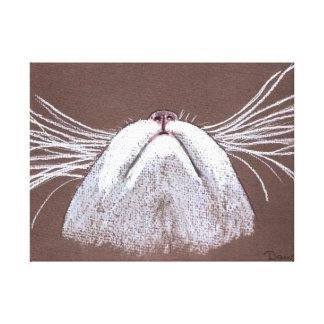 JUST THE CATS WHISKERS GALLERY WRAP CANVAS