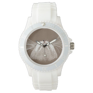 JUST THE CATS WHISKERS WRIST WATCH