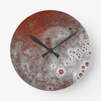 Just The Foam Round Clock