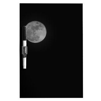 Just the Moon Dry Erase Board