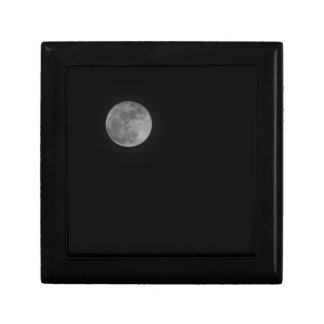 Just the Moon Small Square Gift Box