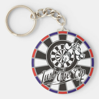 Just The Tip Darts Team Key Ring