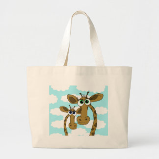 Just the two of us large tote bag