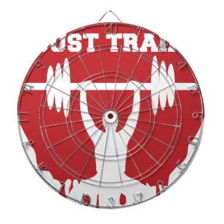 Just train dartboard