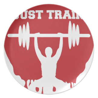 Just train plate