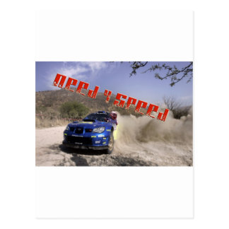 just tyler race car driver postcard