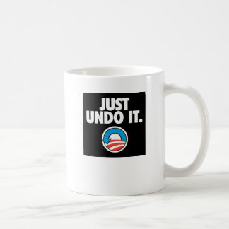 Just Undo It. Coffee Mug