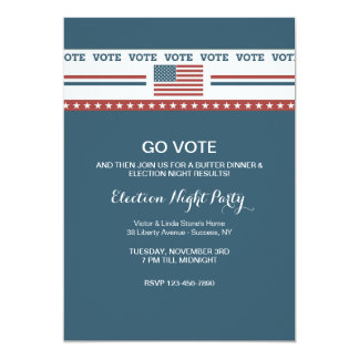 Just Vote Election Party Invitation