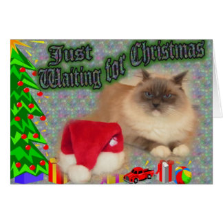 Just waiting for Christmas! Card