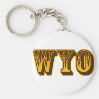 Just WYO Key Ring