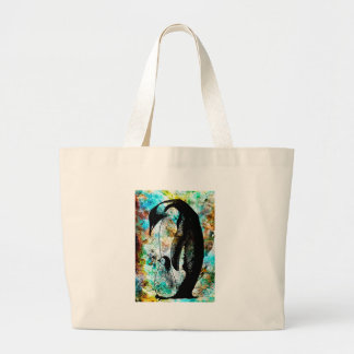 JUST YOU AND ME KID LARGE TOTE BAG