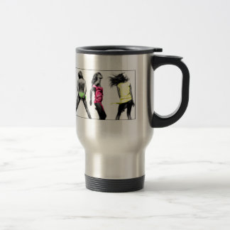 justdance stainless steel travel mug