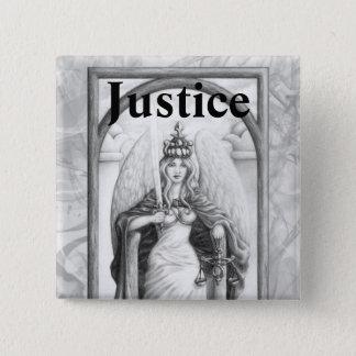 Justice 15 Cm Square Badge