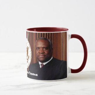 Justice Clarence Thomas - U.S. Supreme Court Mug