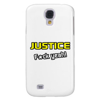 Justice ... F-ck Yeah! Samsung Galaxy S4 Covers