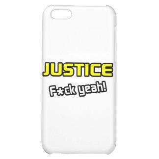 Justice ... F-ck Yeah! iPhone 5C Case