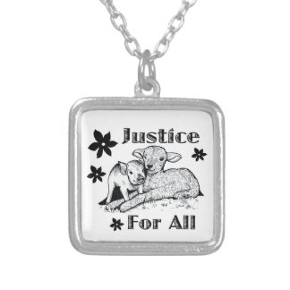 Justice for All Animal Rights Necklace