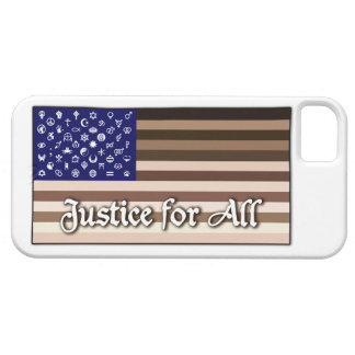 Justice for All Flag Barely There iPhone 5 Case