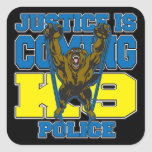 Justice is Coming K9 Police Sticker