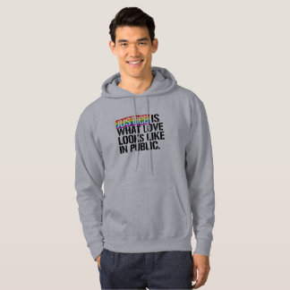 Justice is what love looks like in Public - - LGBT Hoodie