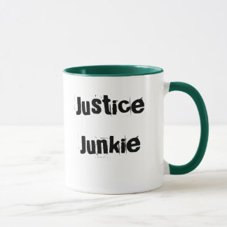 Justice Junkie - Lawyer or Judge Nickname Mug