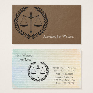Justice Law Office Personalize Destiny Destiny'S Business Card