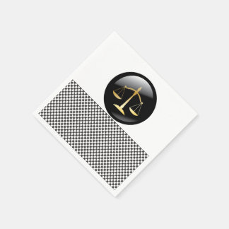 Justice Law Office Personalize Destiny Destiny'S Paper Napkin