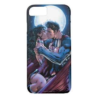 Justice League #12 Wonder Woman & Superman Kiss iPhone 8/7 Case