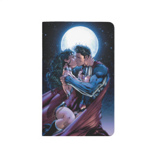Justice League #12 Wonder Woman & Superman Kiss Journal