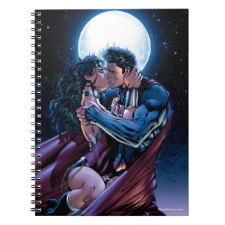 Justice League #12 Wonder Woman & Superman Kiss Notebook