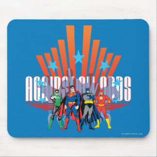 "Justice League ""Against All Odds"" Mouse Pad"