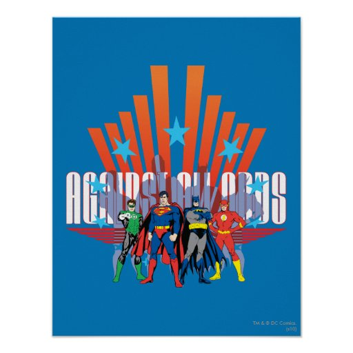 """Justice League """"Against All Odds"""" Posters"""