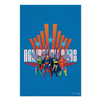 Justice League Against All Odds Posters