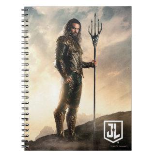 Justice League | Aquaman On Battlefield Notebook