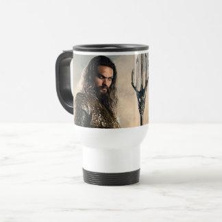 Justice League | Aquaman On Battlefield Travel Mug