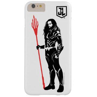 Justice League | Aquaman Pose Noir Pop Art Barely There iPhone 6 Plus Case