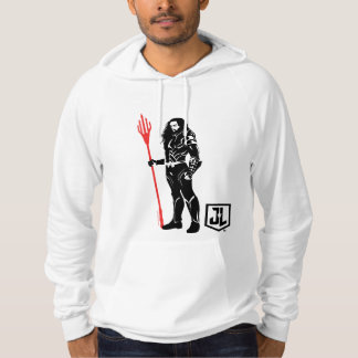 Justice League | Aquaman Pose Noir Pop Art Hoodie