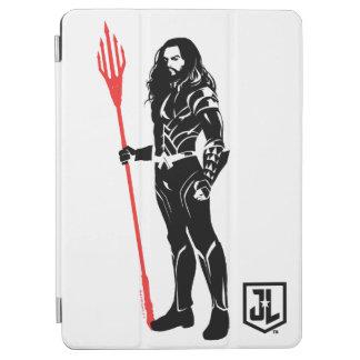 Justice League | Aquaman Pose Noir Pop Art iPad Air Cover